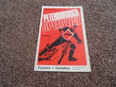 Peterborough Panthers v Canterbury, 1970